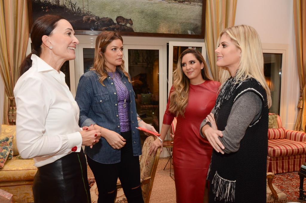 Andrea Natal, Marcela Tranchesi, Lele Saddi e Lala Rudge (1)