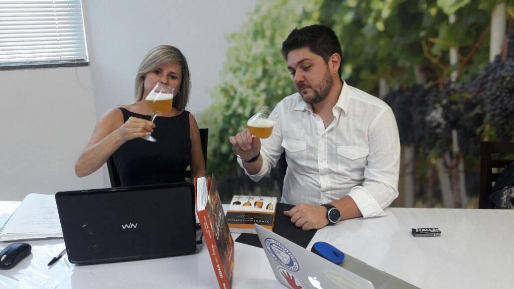 Fernanda Barbosa e Rodrigo Ricco