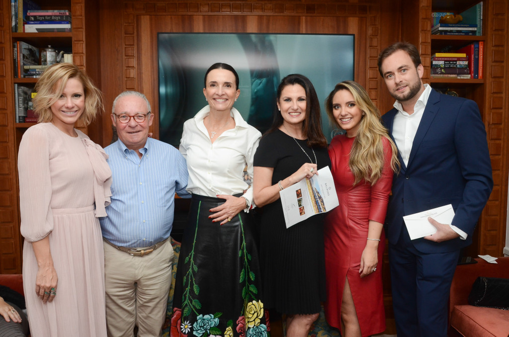 Monica Salgado, Philippe de Nicolay, Andrea Natal, Cris Lotaif, Lele Saddi e Cassiano Vitorino (2)
