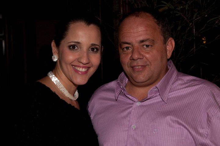 Daniela e Fabinho Liporoni