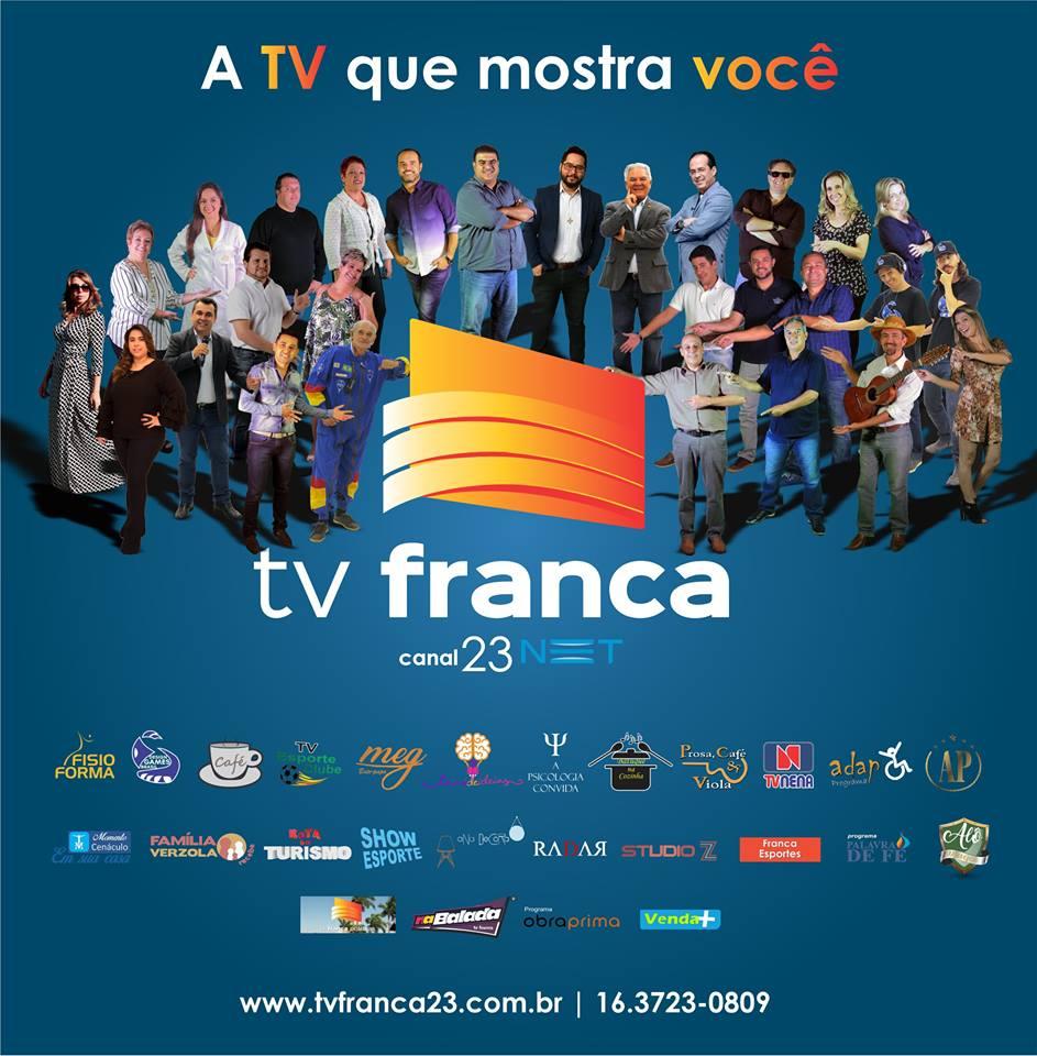 Tv Franca Rodape