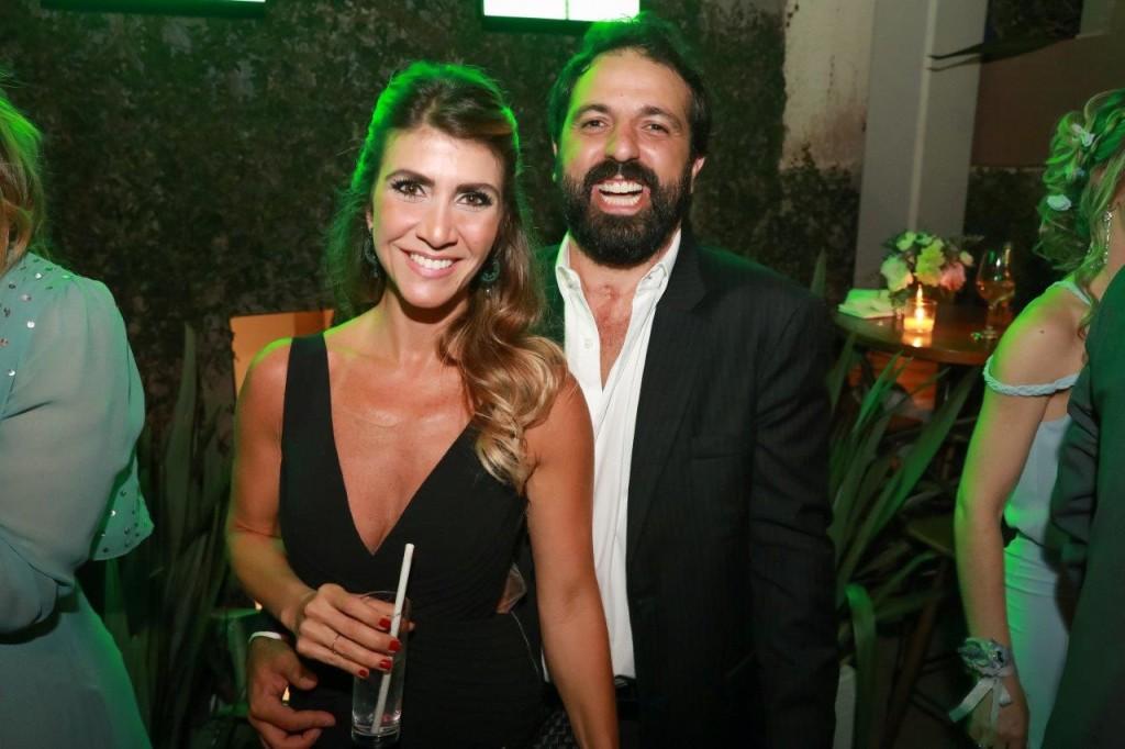 Aretha Monteiro e Tico Sahyoun