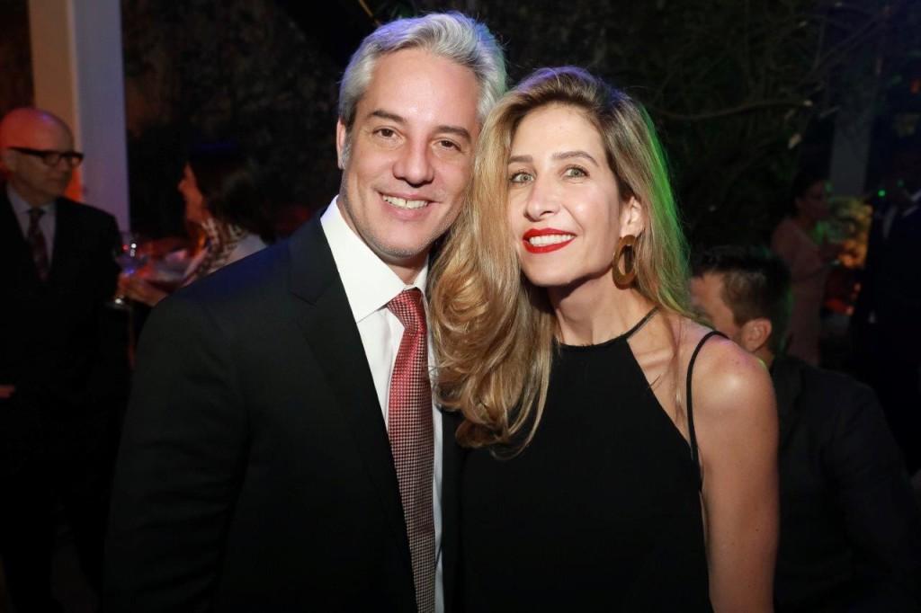 Marcio Neubauer e Ana Raia