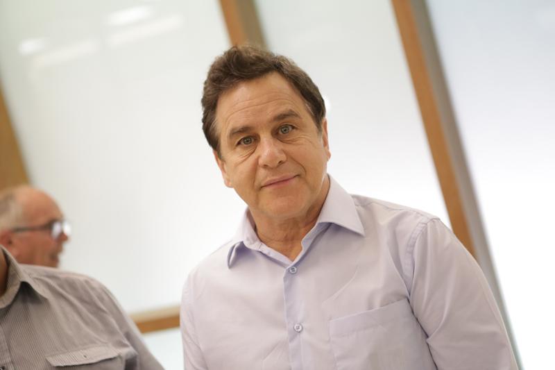 O ator Marcos Frota