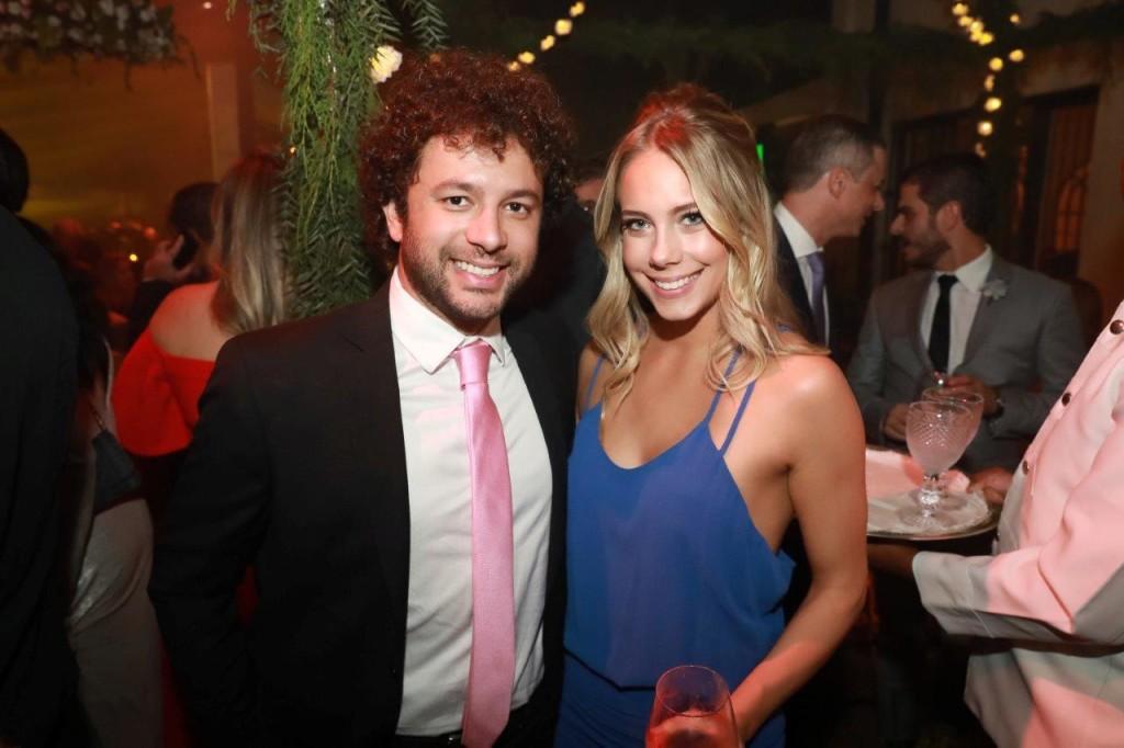 Oscar Martins e Jessica Gunter