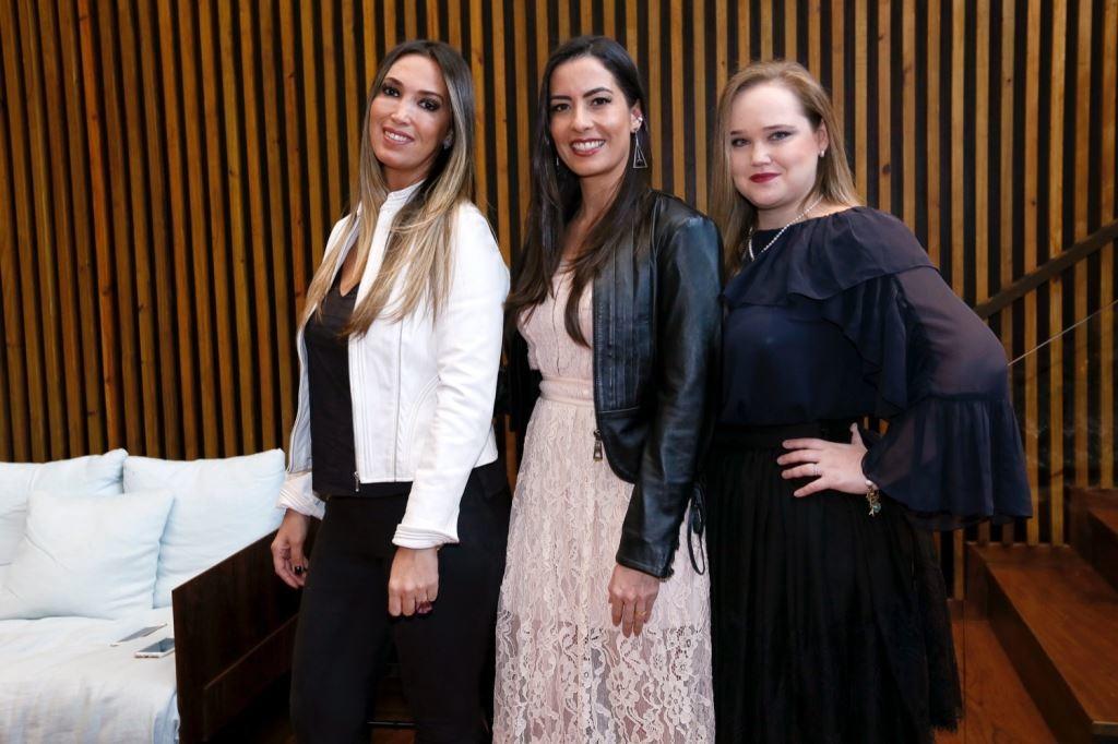 Patricia Ivanoff, Ludmila Tavares e Aliki Brunetti