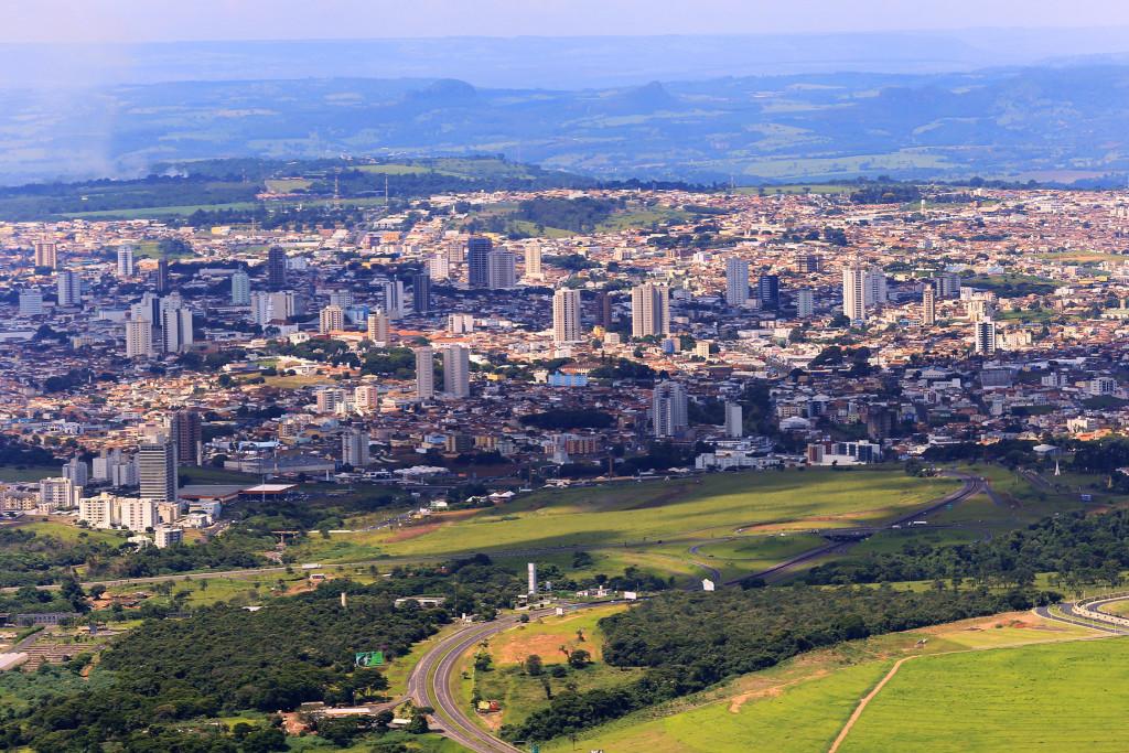 Imagem aérea de Franca -CASACOR - Foto Marcos Limonti