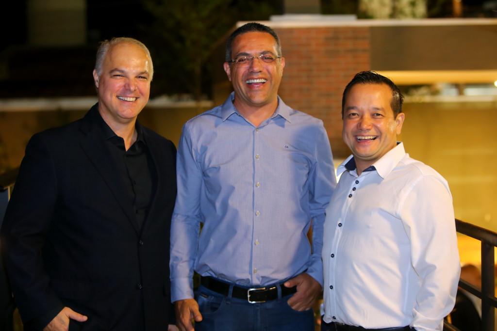 Marcio Nogueira, Marcos Parra e João Paulo Kawano