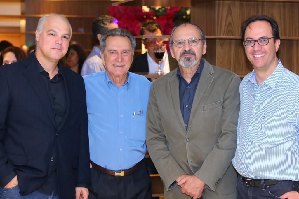 Marcio Nogueira, Pedro Tasso, Ricardo Calderine e José Reinaldo