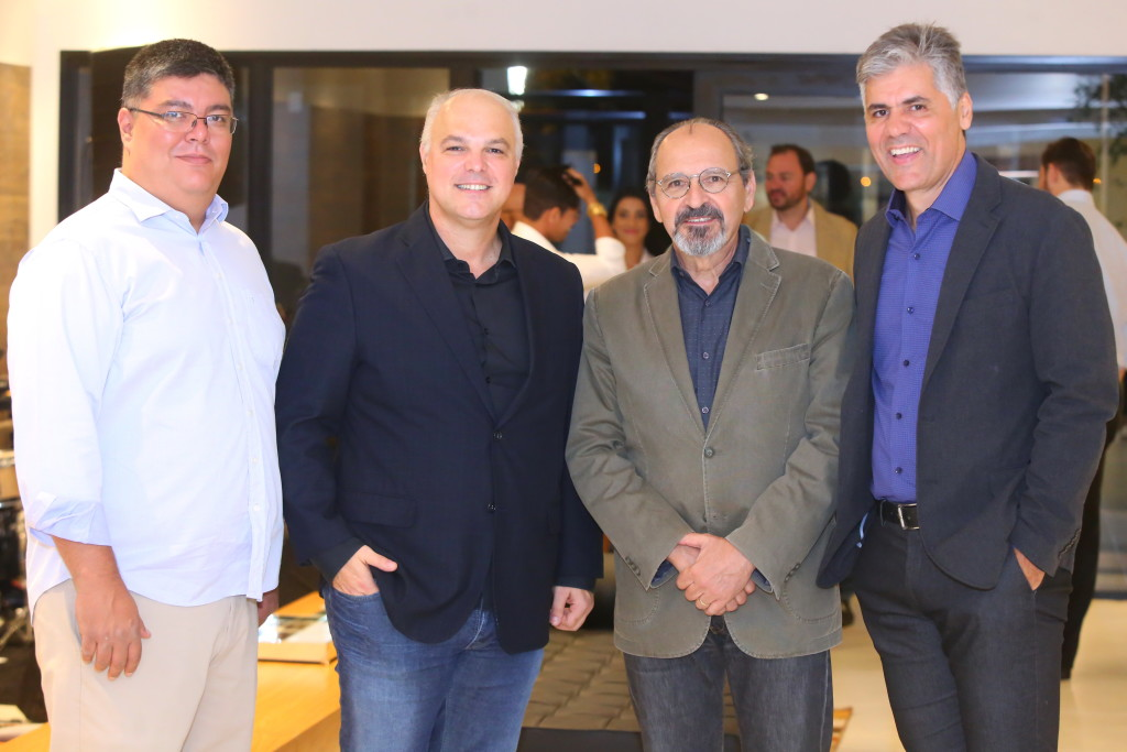 Sérgio Kato, Marcio Nogueira, Ricardo Calderine e Alfredo Santos