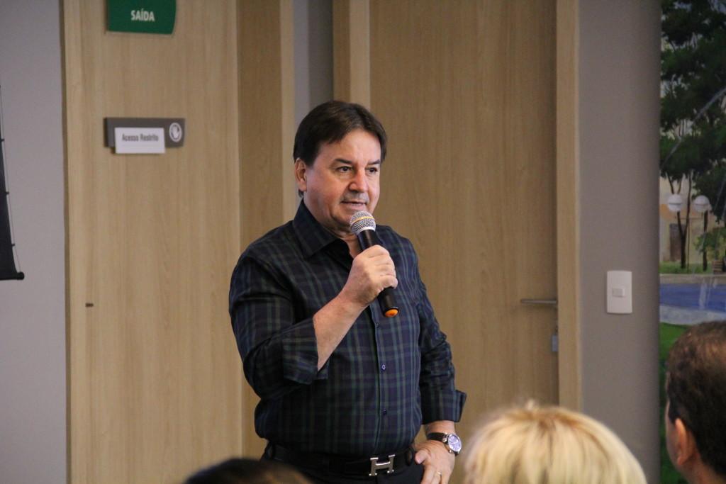 Presidente da rede Chalim Savegnago apresenta as expectativas da empresa para 2017 e 2018 - divulgação