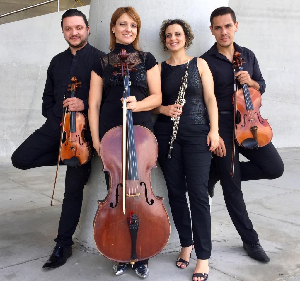 Quarteto Françaix 2 - Foto Fernanda Kremer