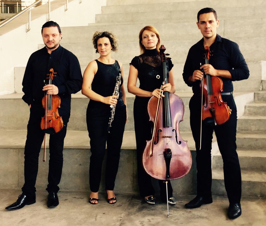 Quarteto Françaix 4 - Foto Fernanda Kremer