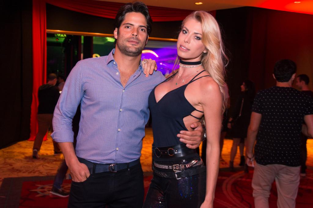 Caroline Bittencourt e o noivo, o empresário o noivo, empresário Jorge Sestini
