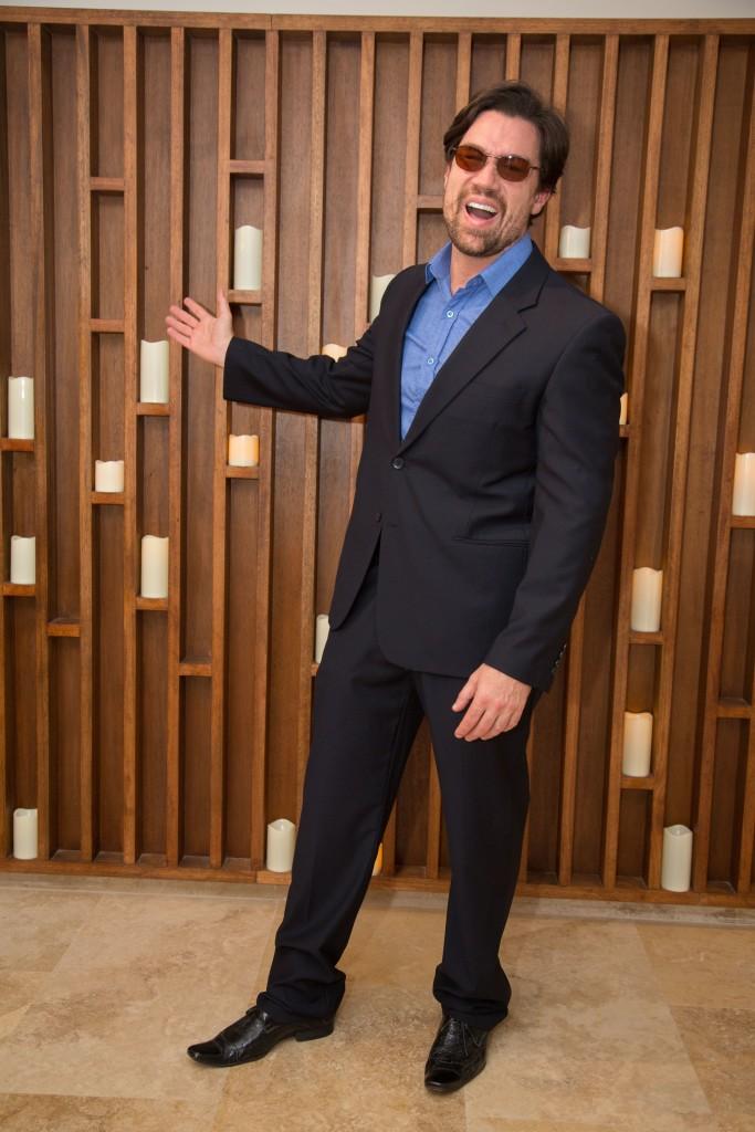 O ator Ricardo Maccchi