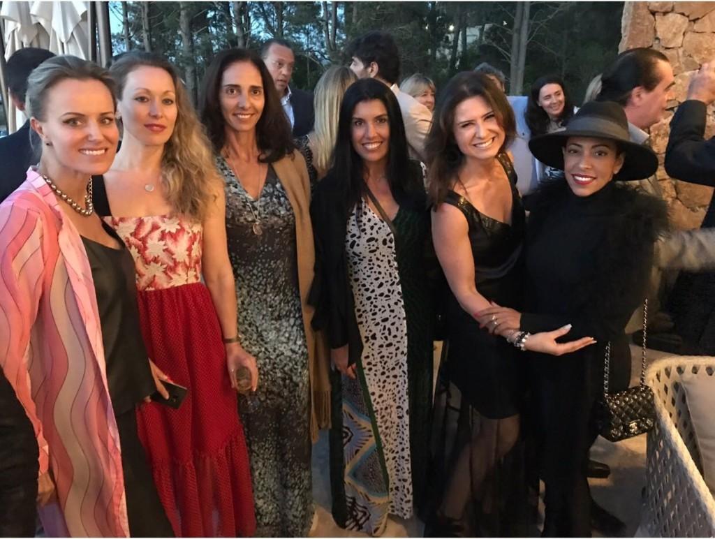 Turma animada do Spa com a personal Marcia Refinsky e Samantha Schmutz