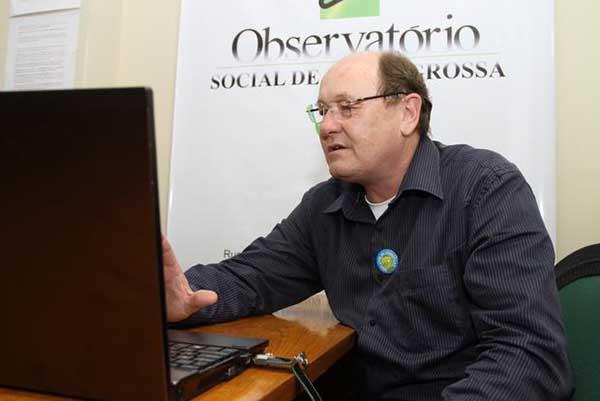 presidente do Observatório Social do Brasil, Ney da Nóbrega Ribas