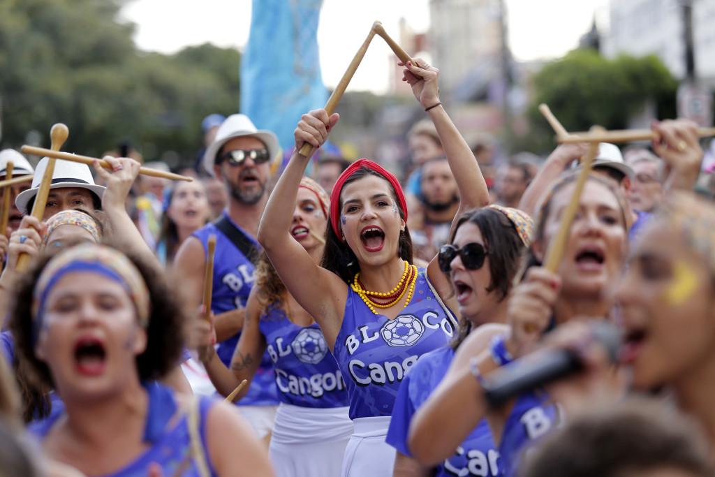Bloco Cangoma - Apresentação Carnaval 2017 - Franca SP Foto Marcos Limonti (1)