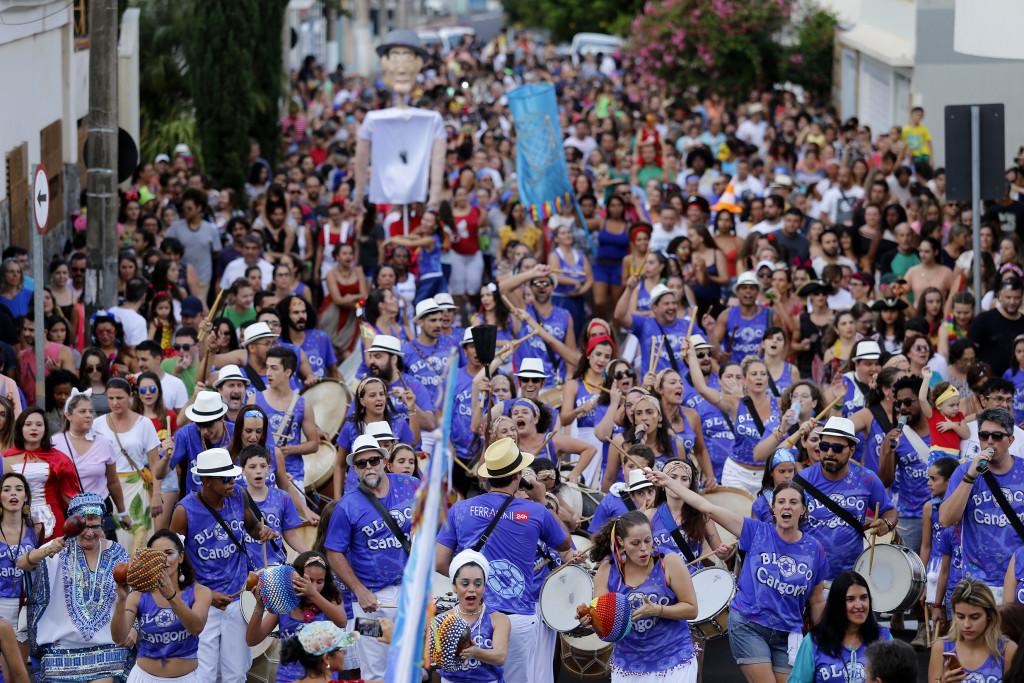 Bloco Cangoma - Apresentação Carnaval 2017 - Franca SP Foto Marcos Limonti (3)