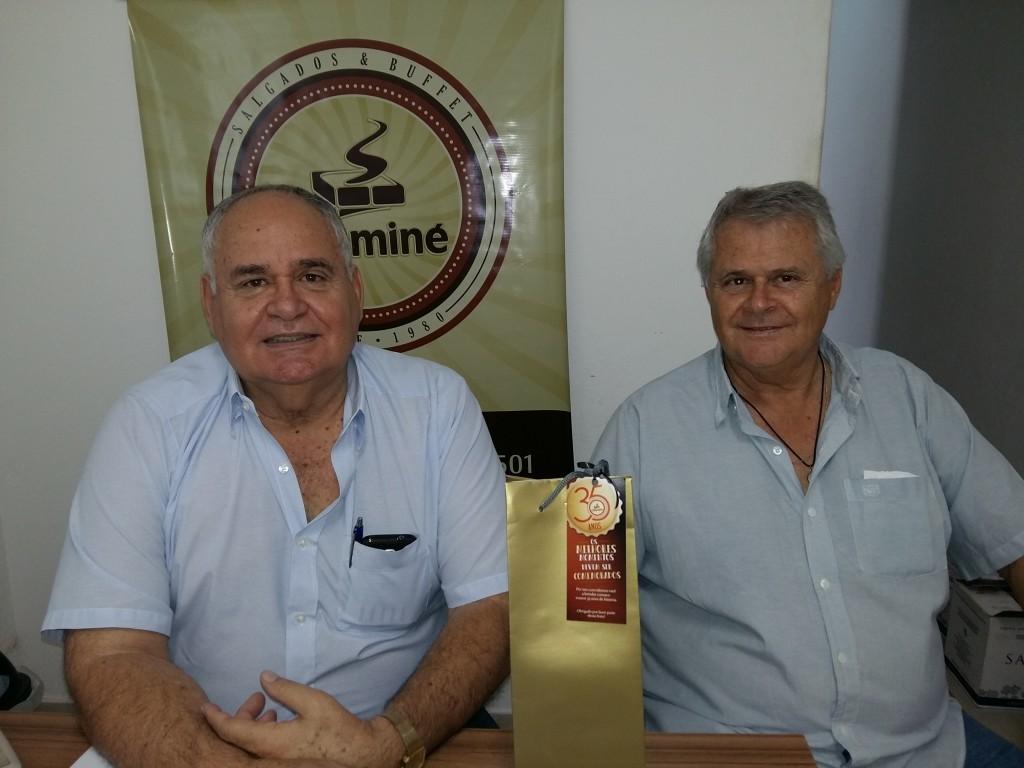 Edson e Renato de Andrade