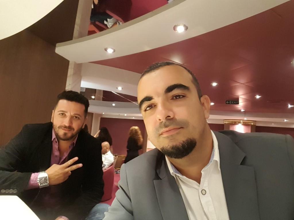 Siderius Martins e Victor Galhardo Rosa