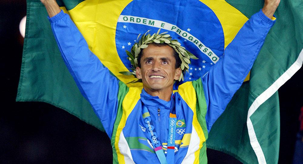 atleta Vanderlei Cordeiro de Lima