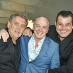Angelo Derenze, Raul Penteado e Paulo Bacchi