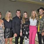 Giovanna Ewbank, Didi Wagner com Paulo eLais Bacchi, Ticiane Pinheiro e Hugo Gloss