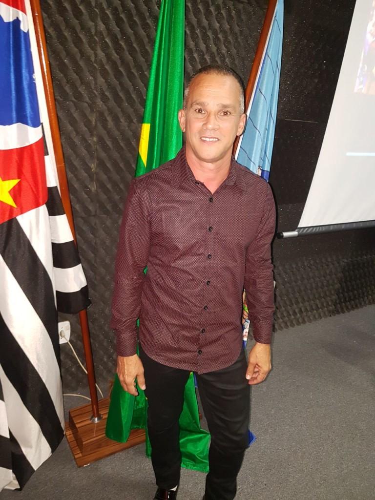 03 - Elson Francisco Bonifácio, Secretário Municipal de Esporte, Arte, Cultura e Lazer, durante evento na Casa da Cultura
