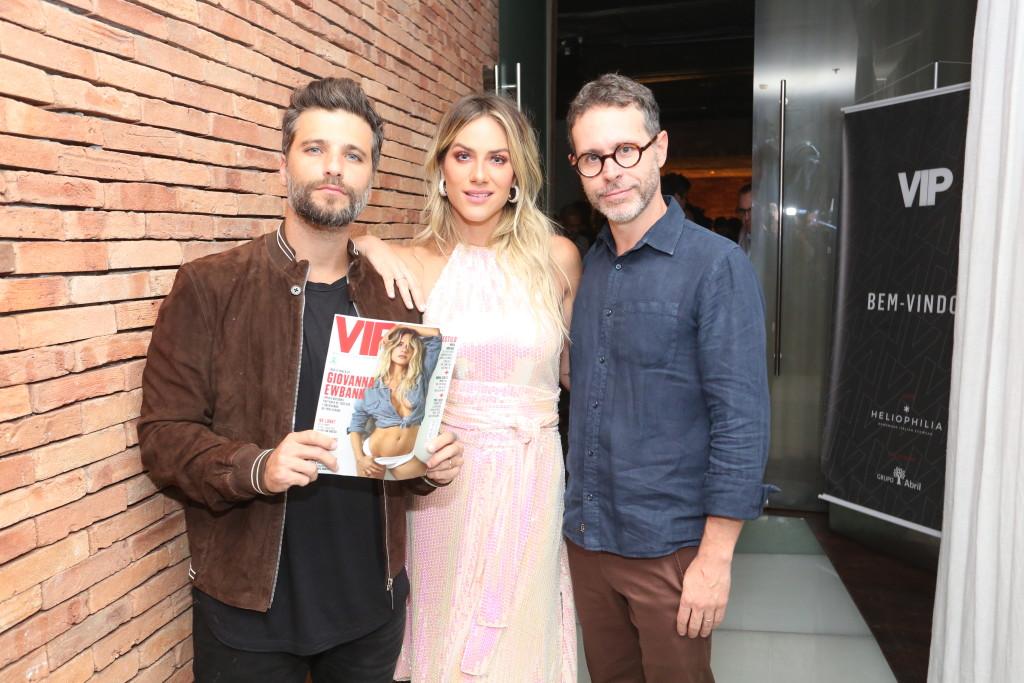 Bruno Gagliasso, Giovanna Ewbank e Ivan Padilla